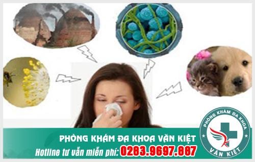 Nguyên nhân gây ra viêm mũi dị ứng