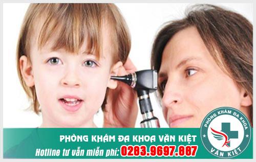 Nguyên nhân viêm tai giữa ở trẻ em