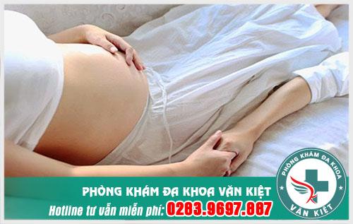 Những giai đoạn được quan hệ trong thời kỳ mang thai